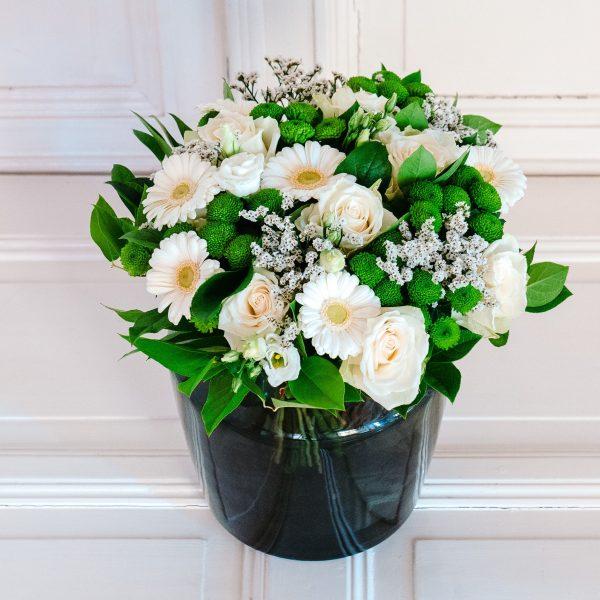 boeket met witte bloemen